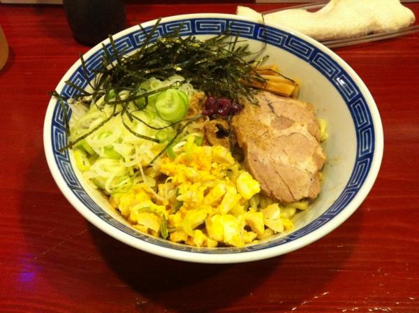 麺屋十郎兵衛 梅と鰹の油そば