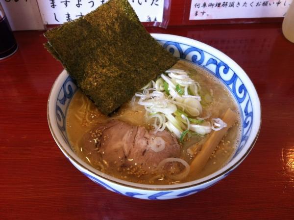 麺屋十郎兵衛 朝らーめん(二杯目)