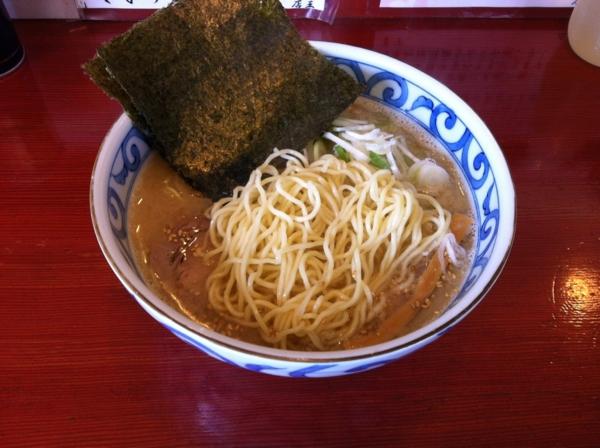 麺屋十郎兵衛 朝らーめん(二杯目) 麺