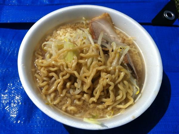 AKITA大ラーメン博 ラーメン大 ラーメン(アブラ増し) 麺