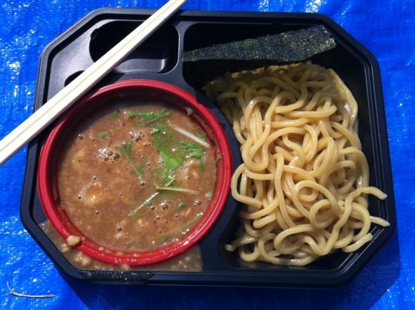 AKITA大ラーメン博 つけ麺雀×麺屋桜コラボ つけ麺