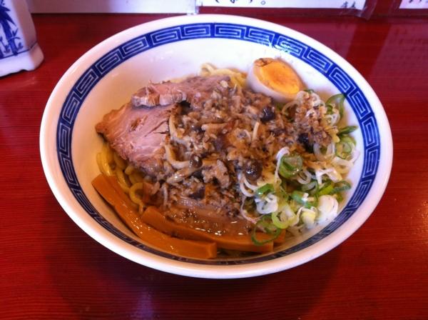 麺屋十郎兵衛 秋のキノコの油そば(二杯目)