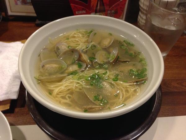 麺酒菜おり座 あさりの塩中華