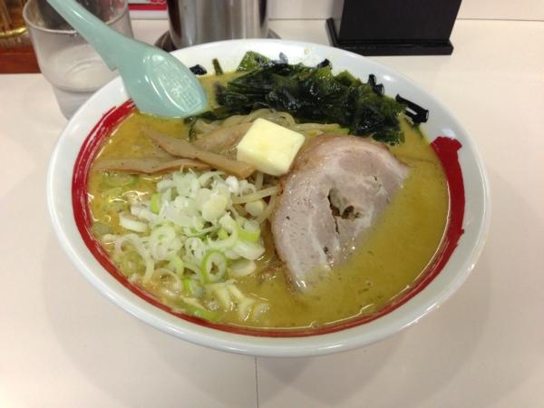 らーめん丈屋美郷店 味噌野菜カリー牛乳ラーメン(二杯目)