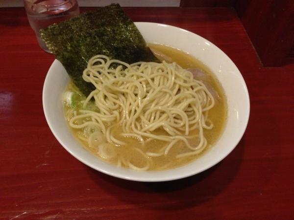 麺屋十郎兵衛 十郎家らーめん(五杯目) 麺