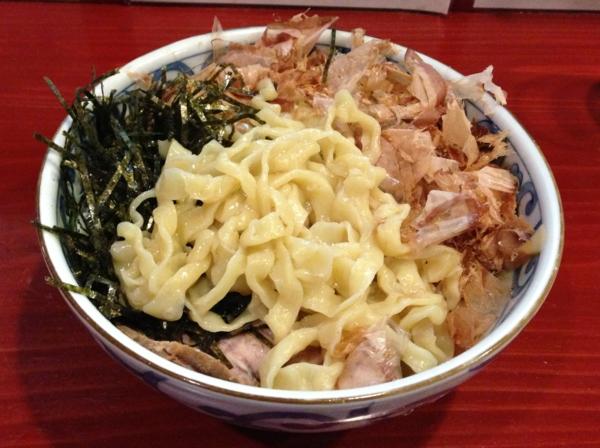 麺屋十郎兵衛 釜玉中華麺 麺
