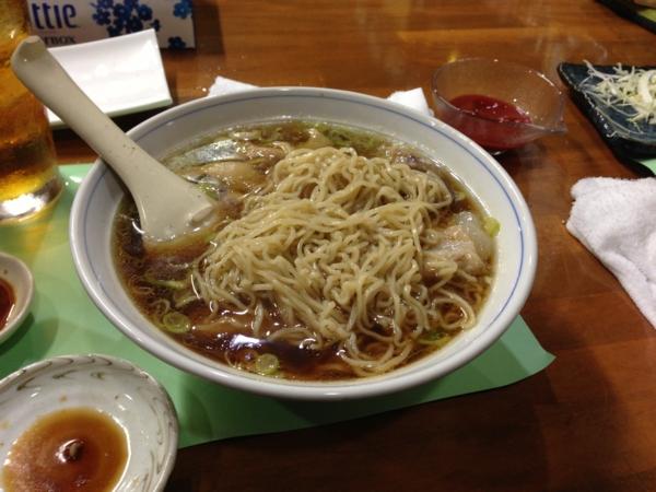 ぱんだ屋 しょうゆラーメン 麺