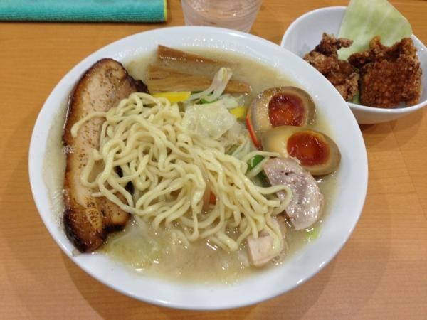 麺や遊大 遊大タンメン 麺