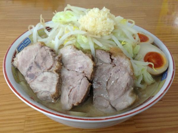 たいやき本舗藤家 仙台泉店 味卵M.CラーメンZ(大盛り)