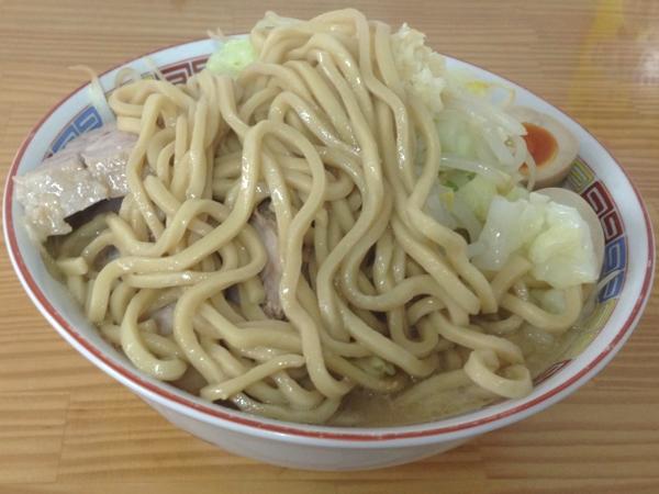 たいやき本舗藤家 仙台泉店 味卵M.CラーメンZ(大盛り) 麺