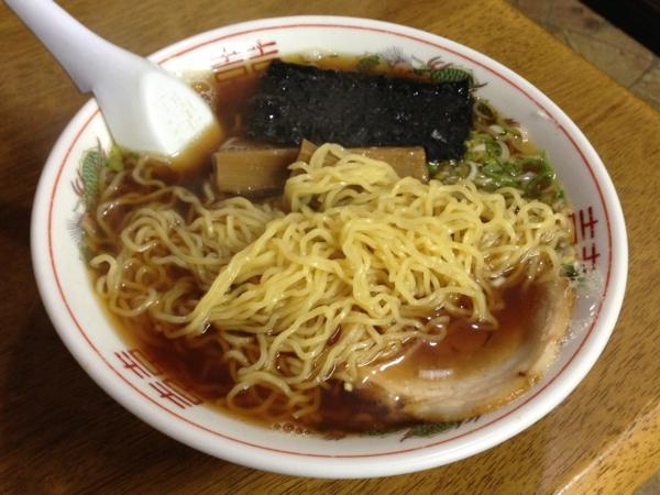 拉麺たいぢ 中華そば/煮干 麺