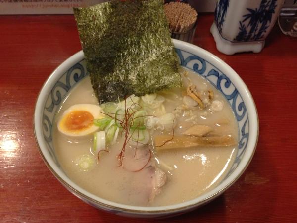 麺屋十郎兵衛 帆立貝ホワイト
