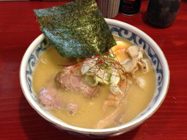 麺屋十郎兵衛 帆立貝ホワイト(二杯目)