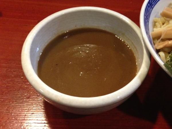 麺屋十郎兵衛  特製つけ麺 つけ汁