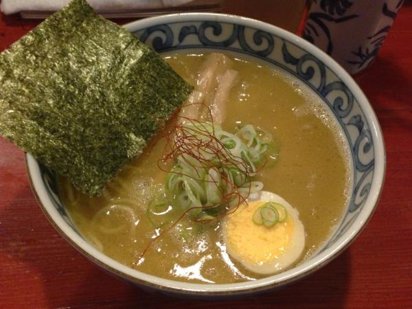 麺屋十郎兵衛 塩らーめん(濃厚)
