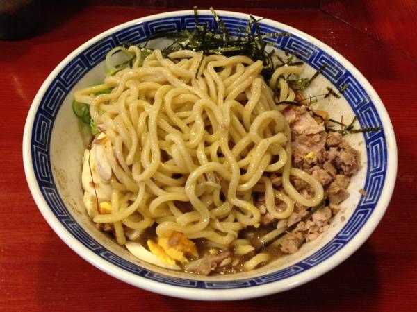 麺屋十郎兵衛 ニボブラー 麺