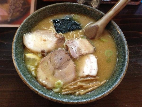 麺屋もと 味噌ラーメン(中) チャーシュー