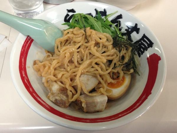 らーめん丈屋美郷店 海老和え麺 麺