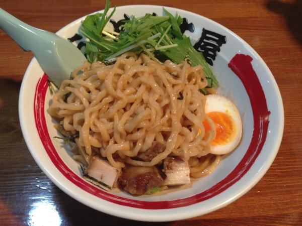 らーめん丈屋美郷店 海老和え麺(二杯目 大盛り) 麺