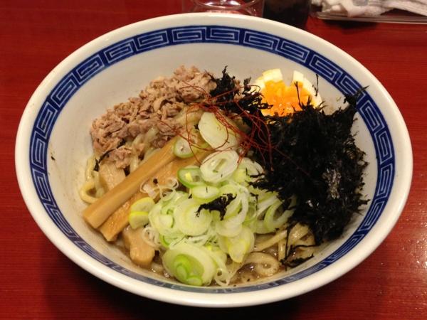 麺屋十郎兵衛 ニボブラー (二杯目) 麺硬め