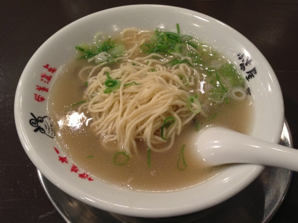 小高屋しじみ王 十三湖しじみ王ラーメン 麺