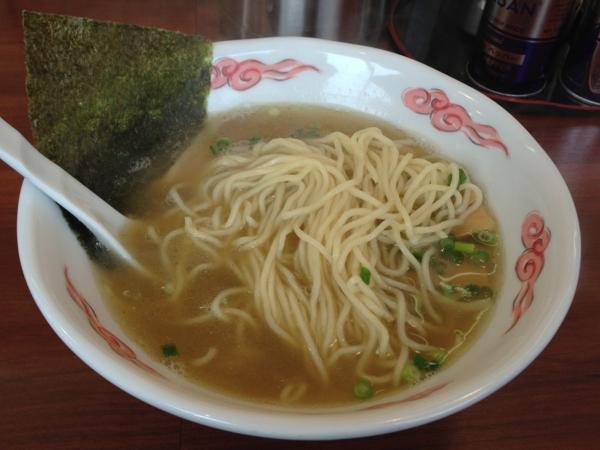 麺屋満開 味噌らーめん 麺