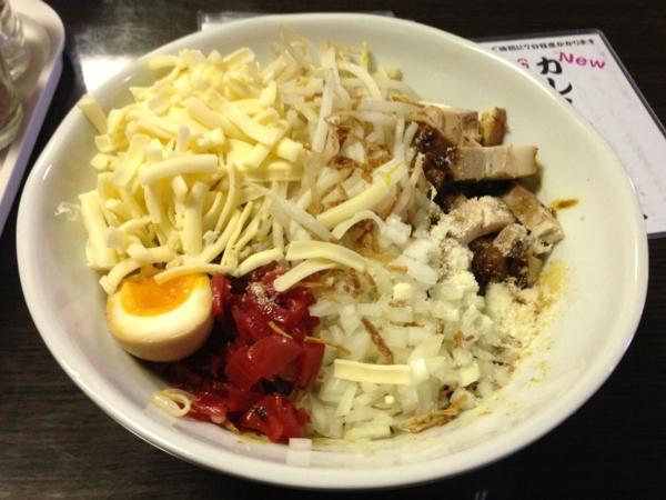 つけ麺KOTETSU カレーまぜそば(一辛)