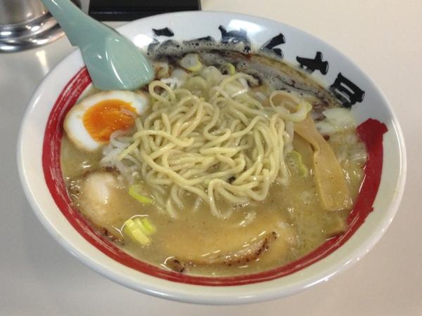らーめん丈屋美郷店 THE☆鶏白湯 麺