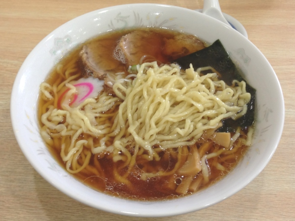 城西金ちゃんラーメン 中華そば 麺