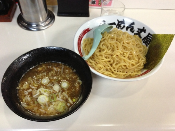 らーめん丈屋美郷店 魚介とんこつつけ麺(大盛り)