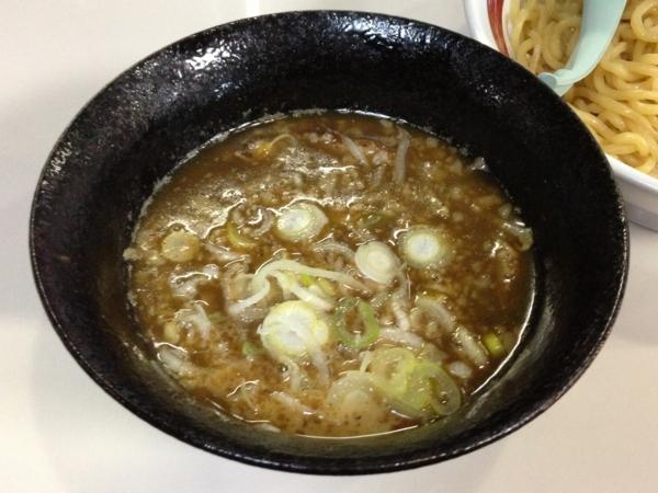 らーめん丈屋美郷店 魚介とんこつつけ麺(大盛り) つけ汁