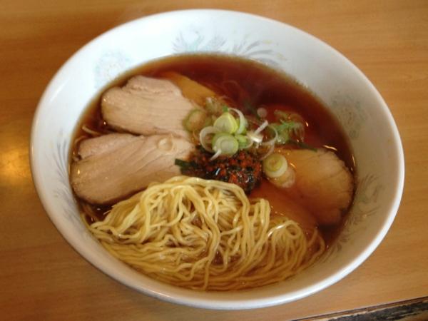 小江戸 中華そば(並)+チャーシュー 麺