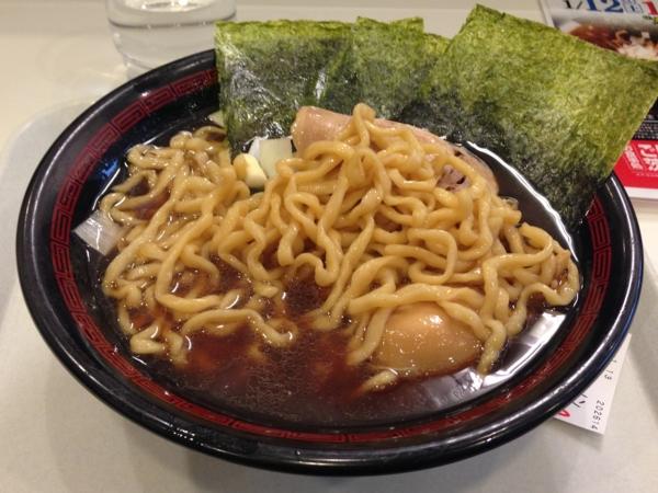 茨島マルハン「ごはんどき」ラーメン凪 味玉ラーメン 麺