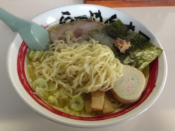 らーめん丈屋美郷店 淡麗蟹蕎麦 麺