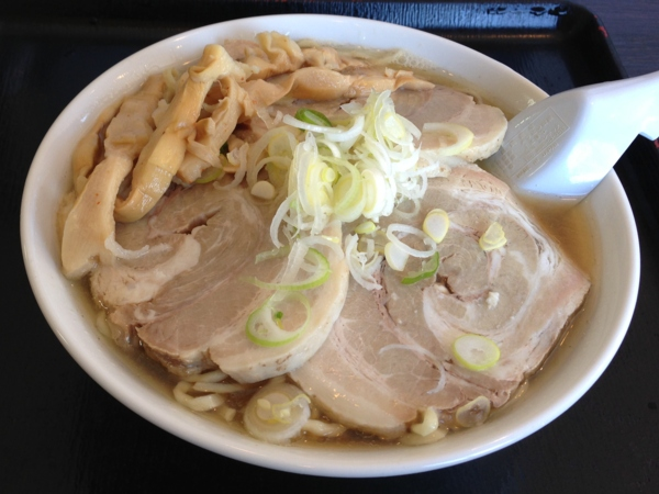 自家製太麺 渡辺 らー麺大+煮豚増し