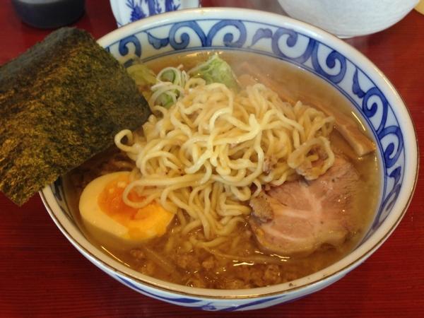 麺屋十郎兵衛 じゅろ味噌ラーメン 麺