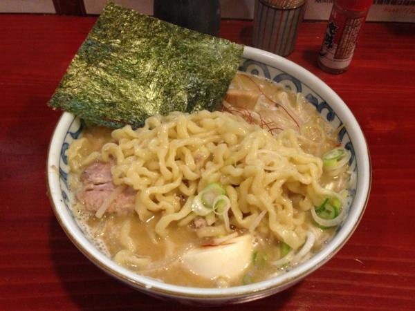 麺屋十郎兵衛 じゅろ味噌ラーメン(麺をつけ麺用でオーダー) 麺