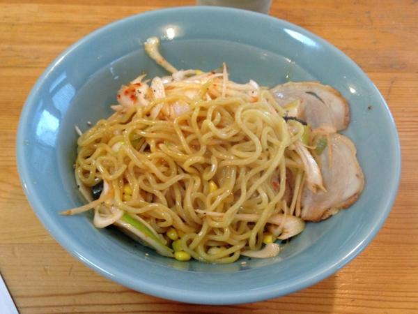 味の店 高昭 油そば 麺