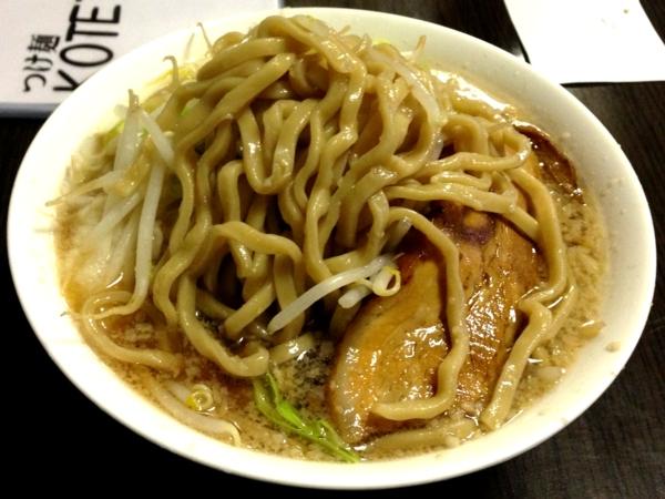 つけ麺KOTETU 虎二郎 麺