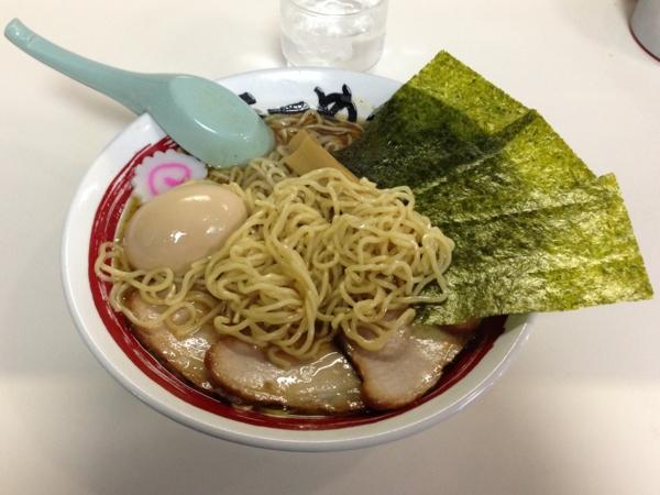 らーめん丈屋美郷店 特製飛魚中華そば 大盛り 麺