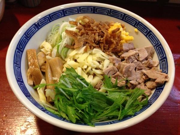 麺屋十郎兵衛 ジュロドゥー油そば(三月限定)