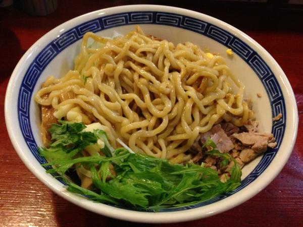 麺屋十郎兵衛 ジュロドゥー油そば(三月限定) 麺