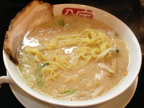 宝介六郷店 にらなんばんラーメン 麺