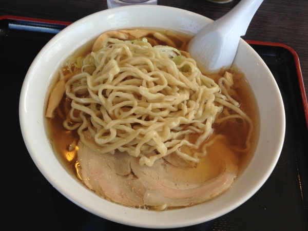 自家製太麺渡辺 らー麺 麺