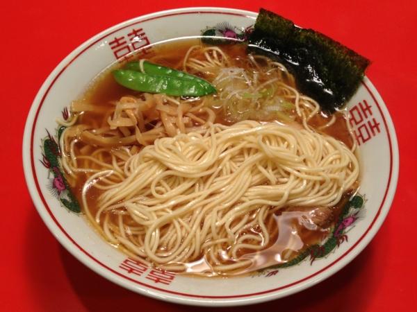 太平楽 あごタシ中華そば(小) 麺