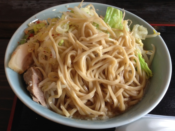 そば五郎 ラーメン五郎(大盛り) 麺