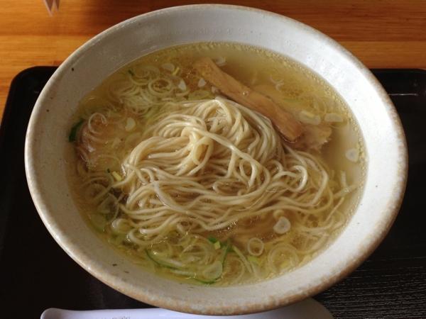 中華そば弥太郎 塩ラーメン 麺