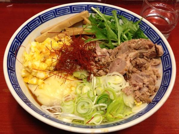 麺屋十郎兵衛 ジュロドゥー油そば(二杯目)