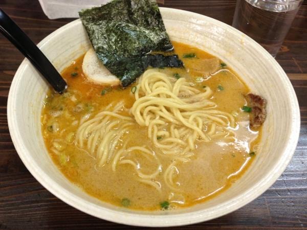 丈屋食堂 塩坦々麺 麺