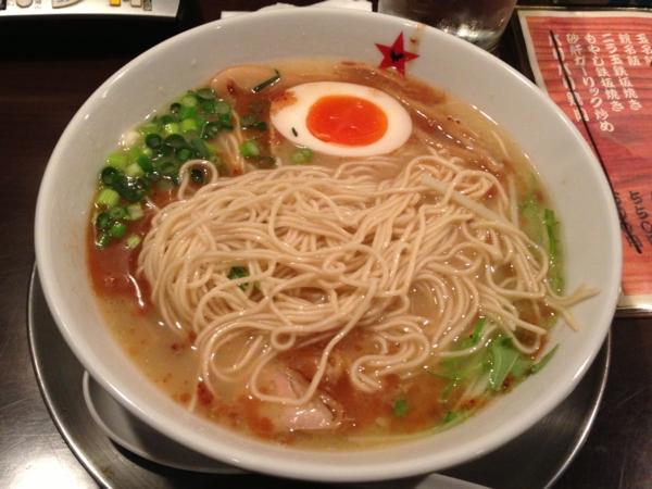 麺屋345丁目 黒鶏 麺